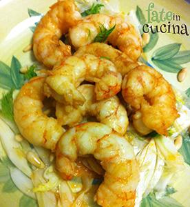 Gamberoni flamb alla salsa di soia fate in cucina for Lecitina di soia in cucina